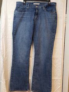 LEVI'S curvy bootcut Water<less Jeans size 32